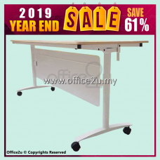 2019 YEAR END SALE : FT-WB1560 FOLDABLE TRAINING TABLE