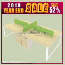 2019 YEAR END SALE : QM SERIES 4-SEATERS WORKSTATION