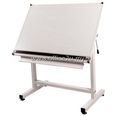 DS-21 DRAFTING STAND WITH DRAWING BOARD AND PARALLEL RULER
