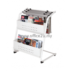 NM-323 NEWSPAPER & MAGAZINE RACK