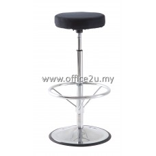 F/12 HIGH BAR STOOL WITH CHROME LEG