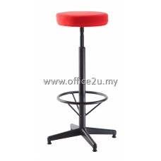 F/28 HIGH BAR STOOL WITH BLACK EPOXY LEG