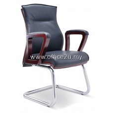AMITY VISITOR LEATHER CHAIR