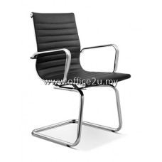 MODERN VISITOR LEATHER CHAIR