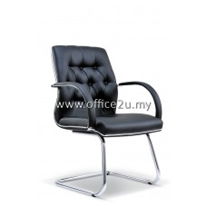 MORO VISITOR LEATHER CHAIR