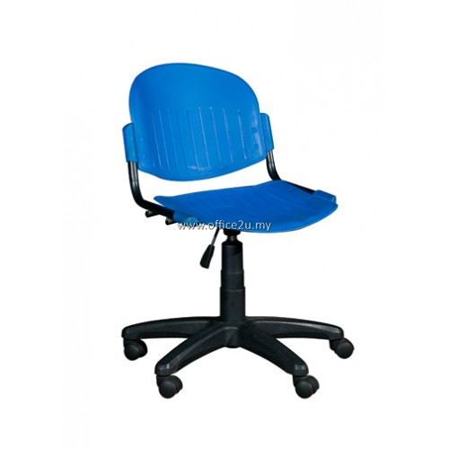 NXS-204 TYPIST CHAIR - POLYPROPRENE
