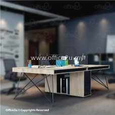 JUHO SERIES 4-SEATERS WORKSTATION : JUHO-4A