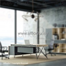 JUHO SERIES EXECUTIVE TABLE WITH SIDE CABINET : JUHO-EXE