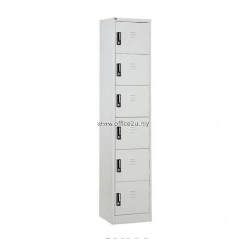 C-114/A 6-COMPARTMENT STEEL LOCKER