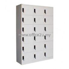C-115/A 18-COMPARTMENT STEEL LOCKER