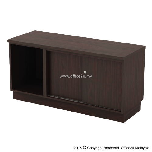 Q-YOS6120-W QUINCY SERIES SIDE CABINET (LEFT)