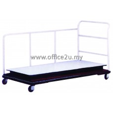 ML-TT-A RECTANGULAR FOLDING TABLE TROLLEY