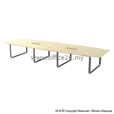 OBB-48 OVERJOY SERIES BOAT-SHAPE CONFERENCE TABLE