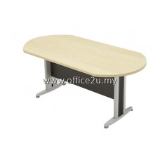 TO OVAL MEETING TABLE