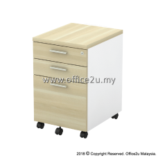 B-YMP3 MOBILE PEDESTAL 2-DRAWER AND 1-FILING (2D1F)