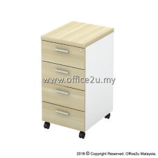 B-YMP4 MOBILE PEDESTAL 4-DRAWERS (4D)