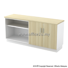 B-YOD7160 COMBINATION LOW CABINET (OPEN SHELF + SWINGING DOOR)
