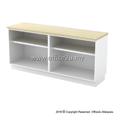 B-YOO7160 COMBINATION LOW CABINET (DUAL OPEN SHELF)