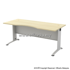 BMB-11 BILLY SERIES 6FT METAL J-LEG EXECUTIVE TABLE