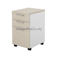 BMP-3 BILLY SERIES MOBILE PEDESTAL 2-DRAWERS AND 1-FILING (2D1F)