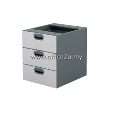 AH-3 BUDGET SERIES FIXED PEDESTAL 3-DRAWERS