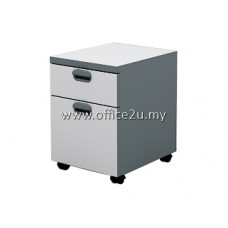 AM-2 BUDGET SERIES MOBILE PEDESTAL 1-DRAWER & 1-FILING (1D1F)