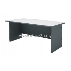 AT-180A BUDGET SERIES 6FT CURVE-FRONT EXECUTIVE TABLE