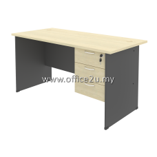 COMBO-GM01 BUDGET SERIES RECTANGULAR TABLE SET WITH FIXED PEDESTAL 3-DRAWERS