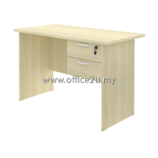 COMBO-EX01 EXOTIC SERIES RECTANGULAR TABLE WITH HANGING RETURN DRAWER 2D