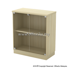 EX-YG9 SWINGING GLASS DOOR LOW CABINET