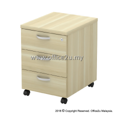 Q-YM3-BA MOBILE PEDESTAL 3-DRAWERS (3D)