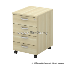 Q-YMP4-BA MOBILE PEDESTAL 4-DRAWERS (4D)