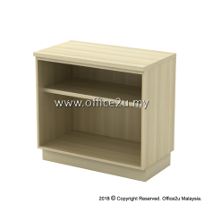 Q-YO875-BA OPEN SHELF LOW CABINET (HEIGHT : 750mm)