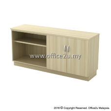 EX-YOD7160 COMBINATION LOW CABINET (OPEN SHELF + SWINGING DOOR)