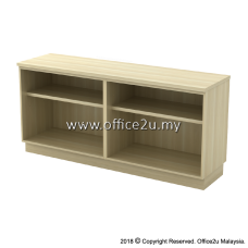 Q-YOO7160-BA COMBINATION LOW CABINET (DUAL OPEN SHELF)