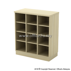 Q-YP9-BA PIGEON 12 HOLES LOW CABINET