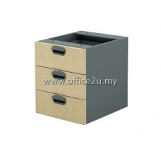 GH-3 GREAT SERIES FIXED PEDESTAL 3-DRAWERS