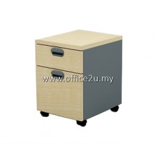 GM-2-M BUDGET SERIES MOBILE PEDESTAL 1-DRAWER AND 1-FILING (1D1F)