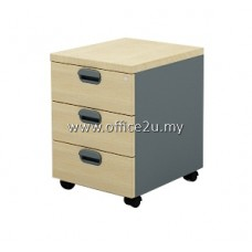GM-3-M BUDGET SERIES MOBILE PEDESTAL 3-DRAWERS (3D)
