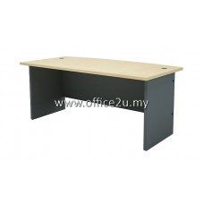 GMB-180A-M BUDGET SERIES 6FT CURVE-FRONT EXECUTIVE TABLE