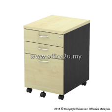 T-YMP3 MOBILE PEDESTAL 2-DRAWER AND 1-FILING (2D1F)