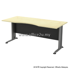 TMB-11 TIMELESS SERIES 6FT METAL J-LEG EXECUTIVE TABLE