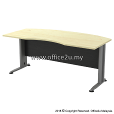TMB-55 TIMELESS SERIES 6FT METAL J-LEG EXECUTIVE TABLE