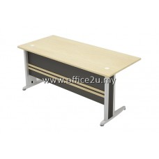 TT TIMELESS SERIES RECTANGULAR METAL J-LEG TABLE