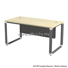 OMT OVERJOY SERIES RECTANGULAR TABLE - METAL MODESTY PANEL
