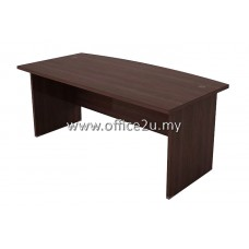 EXT-180A QUINCY SERIES CURVE-FRONT EXECUTIVE TABLE