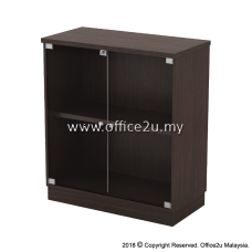 Q-YG9 SWINGING GLASS DOOR LOW CABINET