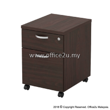 Q-YM2-W MOBILE PEDESTAL 1-DRAWER AND 1-FILING (1D1F)