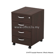 Q-YMP4-W MOBILE PEDESTAL 4-DRAWERS (4D)