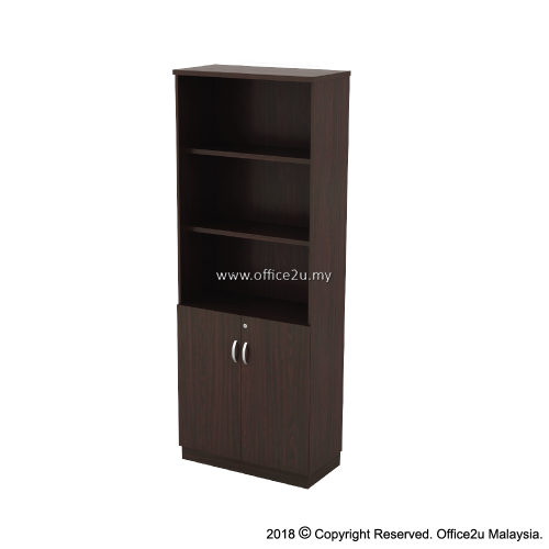 Q-YOD21-W SEMI SWINGING DOOR HIGH CABINET